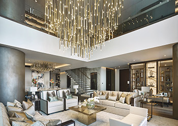 One at Palm Jumeirah, Dorchester Collection boasts 94 prestigious residences.
