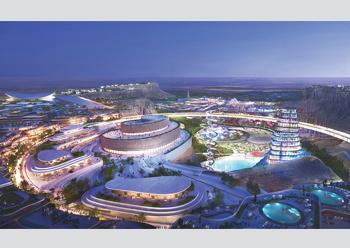 Qiddiya ... a mega entertainment hub taking shape near Riyadh.