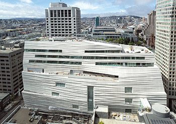 The San Francisco Museum of Modern Art.