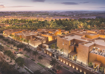 An artist's impression of the Samhan Heritage Hotel