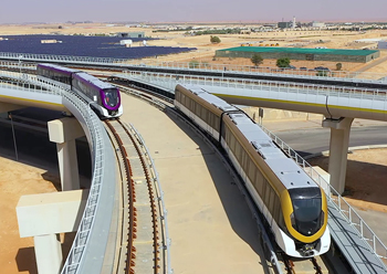 Riyadh Metro ... expected to be flagged off this year.