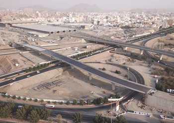 Massive redevelopment is under way as part of the Masar project for Makkah.