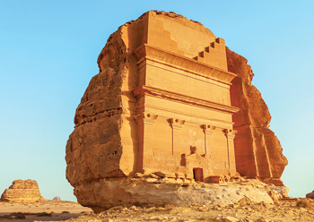 The tomb of Lihyan ... located in AlUla.