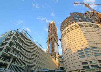 The Assima Tower boasts 54 floors of office spaces.