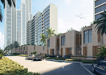 Byout Hessah boasts 40 luxury townhouses and two 12-floor residential buildings.