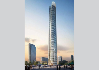 Iconic Towers, Cairo ... to feature Kone lifts.