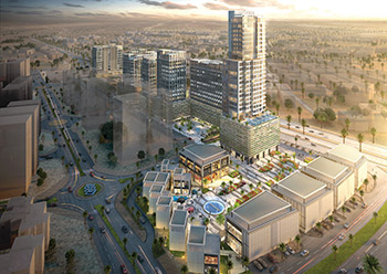 The Commercial District ... an all-inclusive community, lifestyle hub.