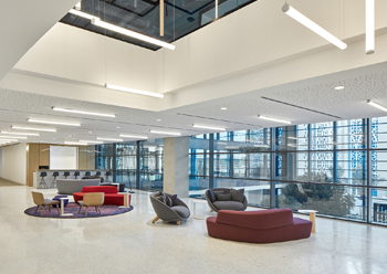The new Research Technology and Innovation Park at the American University of Sharjah houses several leasable offices.
