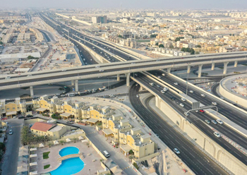 Duhail Intersection ... a key project in Qatar.