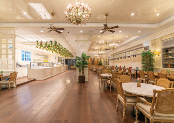 L'ETO Caffe oozes a refined atmosphere – an elevated tea house experience.