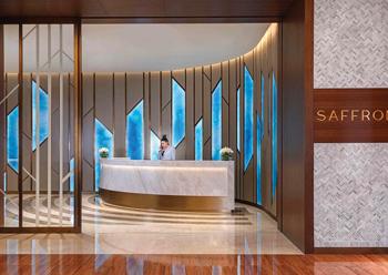 Saffron Restaurant at Atlantis, The Palm in Dubai.