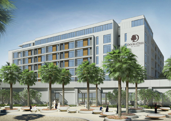 Double Tree by Hilton ... expected to open later this year.