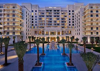 Hilton Abu Dhabi Yas Island ... a luxurious 74,000-sq-m waterfront hotel.