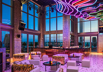 Privilege night spot ... showcasing Bishop Design's daring side.