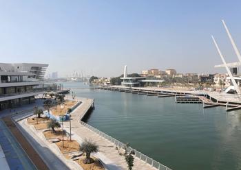"Al Qana's riviera-style marina ... expected to be the ""place to be""."