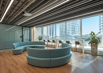PepsiCo's office is designed to provide a long-term solution in light of the new normal.