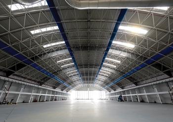 Al-Futtaim's hangar in Dubai South.