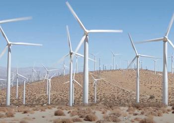 Dumat Al Jandal wind power project ... featuring 99 wind turbines.