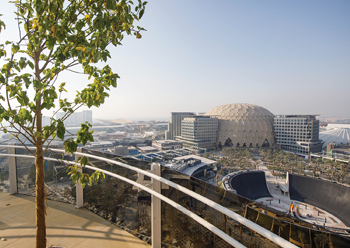 Garden in the Sky ... a 55-m observation tower that offers 360-degree views of the 4.38-sq-km Expo 2020 Dubai site