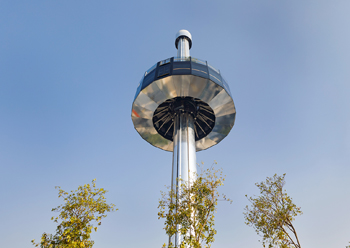 Garden in the Sky ... a 55-m observation tower