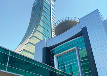 Harbour Towers and Harbour Gate ... a sought-after business address.