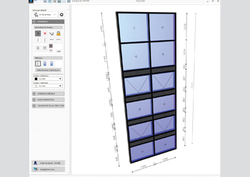 Tech3D ... can be used to design a basic window of a complex façade.