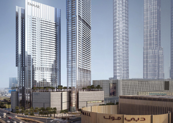 FR-A2 grade ACPs have been supplied for the Vida Dubai Mall.