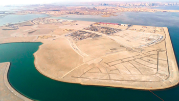 The Diyar Al Muharraq project ... making remarkable progress.