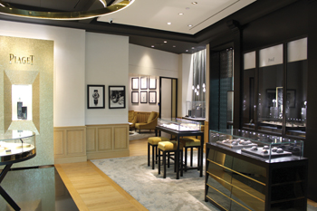 AWD did a full fit-out for a high-end jewellery shop.