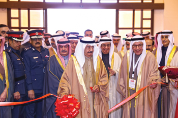 HRH the Prime Minister inaugurating last year's Gulf Industry Fair.