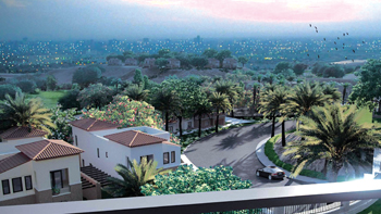 Levana in Uptown Cairo ... 121 villas and townhouses.
