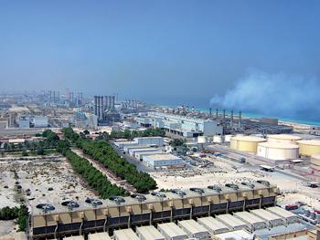 The M-Station in Jebel Ali ... expansion under way.