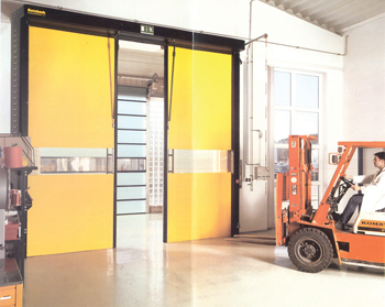 Novosprint ... at 5 m per second opening speed, it's the world's fastest industrial door.
