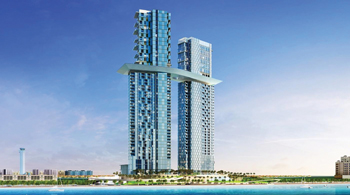 Palm 360 ... set to be the tallest tower on The Palm Jumeirah.