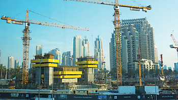 This UAE is the largest construction market in the Arab world.
