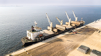 Port of Duqm ... being expanded.