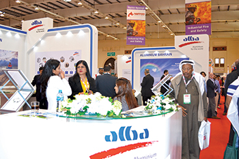 Alba ... a key exhibitor at Gulf Industry Fair.