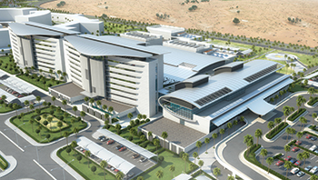 King Abdullah bin Abdulaziz Medical City ... Phase One  to include a 288-bed hospital.