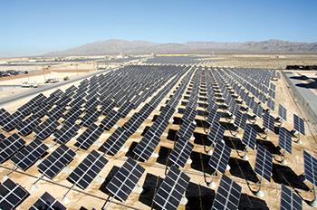 Abu Dhabi plans to build a major solar power plant.