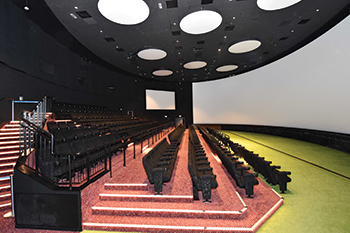 Orbi edutainment centre in Dubai ... supplied by USG Boral.