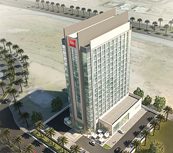 The 252-room ibis hotel ... to come up at Jumeirah Village Circle.