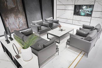 The Cosentino City showroom ... contemporary and minimalistic.