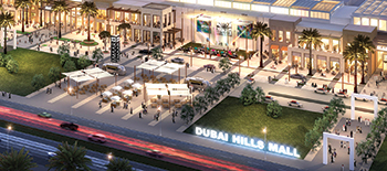 Dubai Hills Mall ... a 6.5 MWp solar power plant is planned for the project.