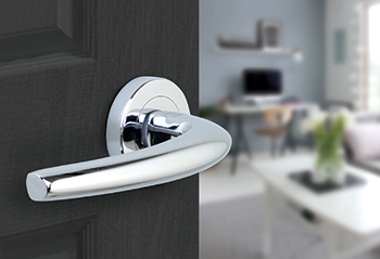 Faenza ... classically designed door lever.