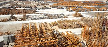 NFT's stockyard in Al Dhafra ... massive.