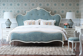 The Malmo Bed ... enhances the overall look of the bedroom.