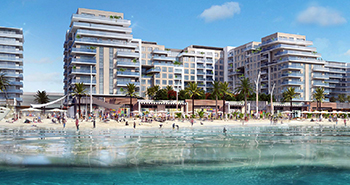 Marassi Shores Residences ... ready early next year.