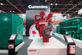Cummins will showcase its latest Q series gensets at the MEE.