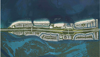 Al Fahid Island Development ... first construction contract awarded.