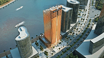 The Millennium Binghatti Residences ... offers spectacular views.